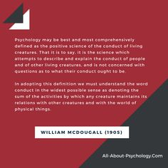 A psychology website designed to help anybody looking for detailed information and resources. Psychology Quotes, Positivity, Science, Good Things, This Or That Questions, Sayings, Lyrics, Word Of Wisdom, Science Comics