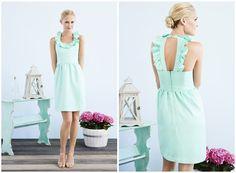 color! Bridesmaid Dress... so adorable