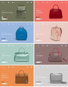 Lipault™ E-Commerce Responsive Web Design Web Design Grid, Web Design Mobile, Site Web Design, Web Banner Design, Web Design Trends, Web Design Company, Layout Design, Flat Design, Design Design