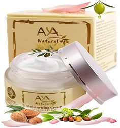 Facial Moisturizer Natural Day Cream - Premium Vegan Face and Neck Care 1.7 oz - Shea, Jojoba, Olive, Avocado & Almond Oils Blend Aya Natural http://www.amazon.com/dp/B00JM90VUY/ref=cm_sw_r_pi_dp_HtDIvb1YG5RQ3