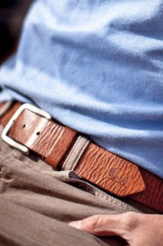 The Wood Belt 1.5 inch Red Pine