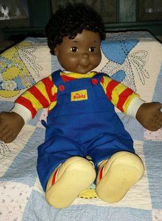 Vintage PLAYSKOOL1989 AFRICAN AMERICAN MY BUDDY DOLL 22in Black Americana Hasbro in Collectibles   eBay