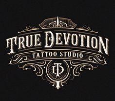Tattoo Lettering Design, Hand Lettering, Devotion Tattoo, Initial Art, Typography Logo, Tattoo Studio, Initials, Graphic Design, Tattoos