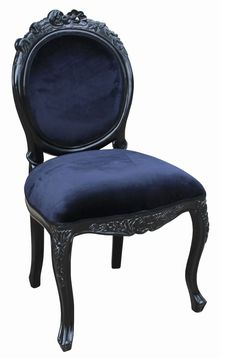 French Moulin Noir Dining chair