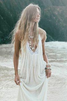 rayon or cotton gauze boho tie dyed long dresses - Google Search