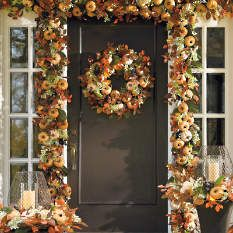 Fall Decorations - Fall Wreaths - Autumn Decorations - Grandin Road