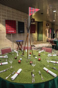 Golf Inspired Centerpiece