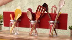 Você pode compor da maneira que combina melhor com a sua cozinha, é só usar a criatividade