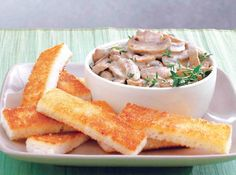 Thyme goes well with the earthy richness of the mushrooms.