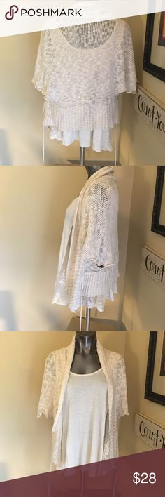 Shawl Cardigan Wear open over a tank or dress or cinch it to accentuate your lady curves! 😘 Sweaters Shrugs & Ponchos