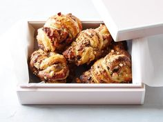 Chocolate and Almond Knots Recipe : Food Network Kitchen : Food Network Food Network Recipes, Food Processor Recipes, Cooking Recipes, Cooking Games, Easy Cooking, Just Desserts, Dessert Recipes, Baking Desserts, Sweet Desserts