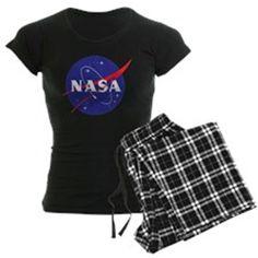 NASA Logo Pajamas on CafePress.com