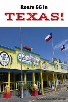 The sights we found on Route 66 in Texas #route66 #familytravel