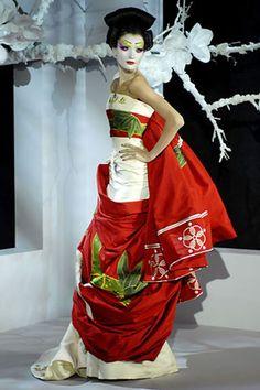 Risultati immagini per kimono wedding dress