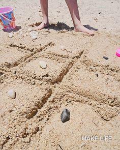 Παιχνίδια στην παραλία. 8 ιδέες για να απασχολήσετε τα παιδιά