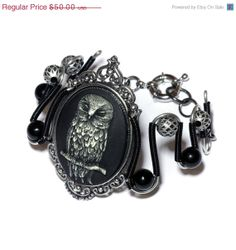 ON SALE TODAY   Neo Victorian Steampunk Goth by CatherinetteRings, $35.00