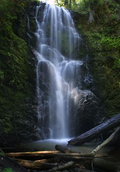 No. 4 on the list of the top 10 things to do in Santa Cruz County before you die? Find a waterfall, or three, in Big Basin State Park just outside of Boulder Creek. (Patrick Tehan/Media News)