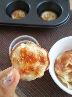 Bezlepkové nízkokalorické sýrové lupínky z bílku - DIETA.CZ