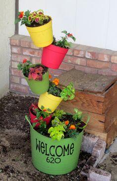 Topsy Turvy Garden Planter