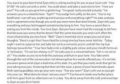 Zayn imagine  Part 1/2