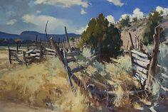 Utah Pastoral by Jill Carver Oil ~ 24 x 36