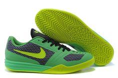 b0b6cc185124 Kobe KB Mentality Lime Green Electric Green Black Volt Nike Sneakers