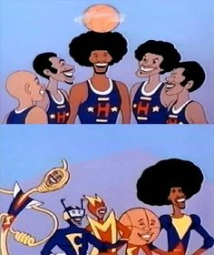 The Super Globetrotters.  (starring the original Globetrotters).