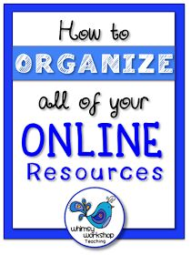 Whimsy Workshop Teaching: Organizing Online Resources - Bright Ideas April