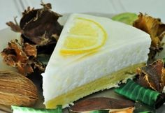 Krémes csupa citrom torta