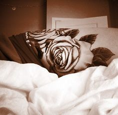 Rose tattoo-I like the lighter shading on the petals.