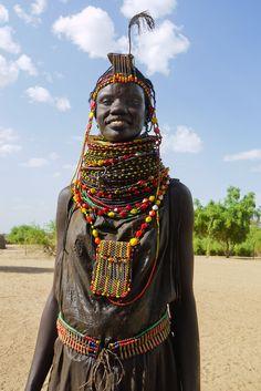 Turkana people   by Rita Willaert