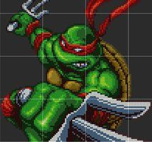 Raphael Sprite Pattern Template by D1A13LO