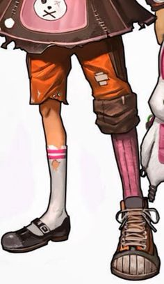 Borderlands 2 Cosplay -- Tiny Tina Cosplay Shoes Version 01