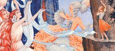 Pääkuva Make Pictures, Illustration Art, Art Illustrations, Nymph, Elves, Surrealism, Fairy Tales, Retro Vintage, Childhood