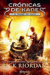 Livros Junior e Juvenil: Passatempo: O Trono de Fogo Crónicas de Kane 2 de ...
