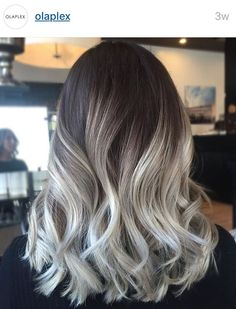 LOVE this color. I don't know if it's possible with my hair. The product used ...olaplex? Anyone know what this is?