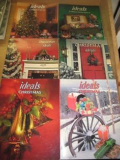 Ideals Magazines LOT of 6 CHRISTMAS Vintage Issues EXCELLENT!