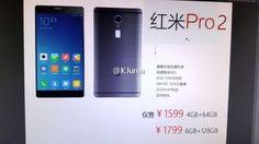 Xiaomi: addio alla doppia fotocamera sul Redmi Pro 2 -  Il fatto che Xiaomi abbia deciso di non partecipare al Mobile World Congress, non impedisce all'azienda cinese di continuare a lavorare su quella che sarà la line-up di smartphone per il 2017. In tal senso, sembra essere prossimo al lancio il Redmi Pro 2, evoluzione naturale del modello... -  http://www.tecnoandroid.it/2017/01/31/xiaomi-addio-alla-doppia-fotocamera-sul-redmi-pro-2-215743 - #RedmiPro2, #Xiaomi