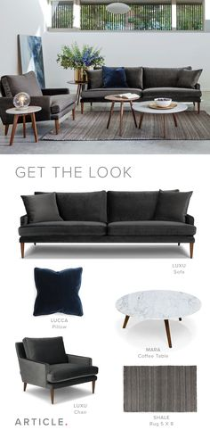 Come home for the holidays. Create a space that's cozy and inviting with luxurious velvets and rich neutrals.