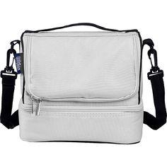 Wildkin Double Decker Lunch Bag 11 Colors Travel Cooler