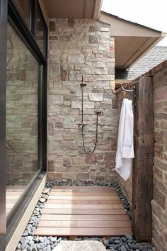 30 Cool Outdoor Showers To Spice Up Your Backyard | Daily Lifestyle Ideas