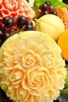 thai fruit carvin...M