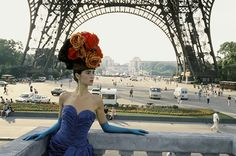 Paris Red Hat and Eiffel Tower | From a unique collection of figurative photography at https://www.1stdibs.com/art/photography/figurative-photography/