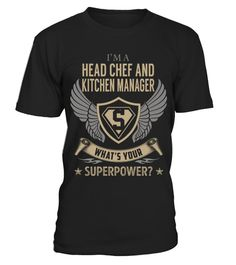 Head Chef And Kitchen Manager