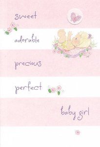 The 7 Best Quotes Images On Pinterest Baby Girl Cards New Baby