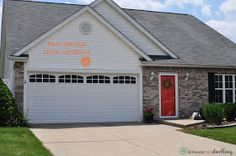 Delineate Your Dwelling: Garage Door Bling. Adding Faux Windows To Garage  Door.