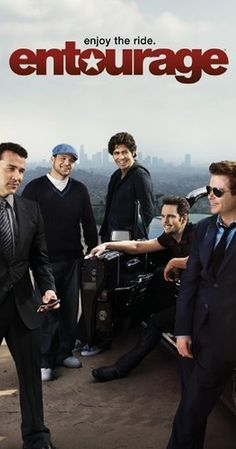 Created by Doug Ellin.  With Kevin Connolly, Adrian Grenier, Kevin Dillon, Jerry Ferrara. Film star Vince Chase navigates the vapid terrain of Los Angeles with a close circle of friends and his trusty agent.