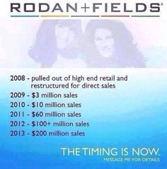 FLASH DEAL: THIS IS IT! THE FIRST DAY OF THE REST OF YOUR LIFE! If you don't make a change today, what is going to be different tomorrow? I am offering $100 off of the $695 or $995 kit for the first two individuals that join Rodan and Fields as my Consultants before midnight April 30!! Message me.