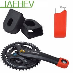 Candy Color Bike Crankset Crank Protective Sleeve MTB Road Bike Bicycle Cycling Crankset Protect Cover Crank Arm Boots 8 Colors