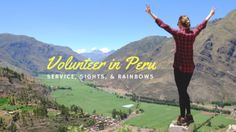 Volunteering for One Week in Peru with Globe Aware - Volunteer Vacations Volunteer Services, Service Projects, One Week, 40 Years, Getting To Know, Us Travel, Peru, Vacations, Globe